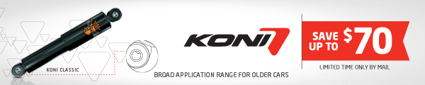 KONI Season of performance rebate