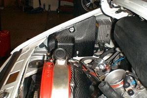 Porsche 911 Carbon Fiber Fuse Box Cover