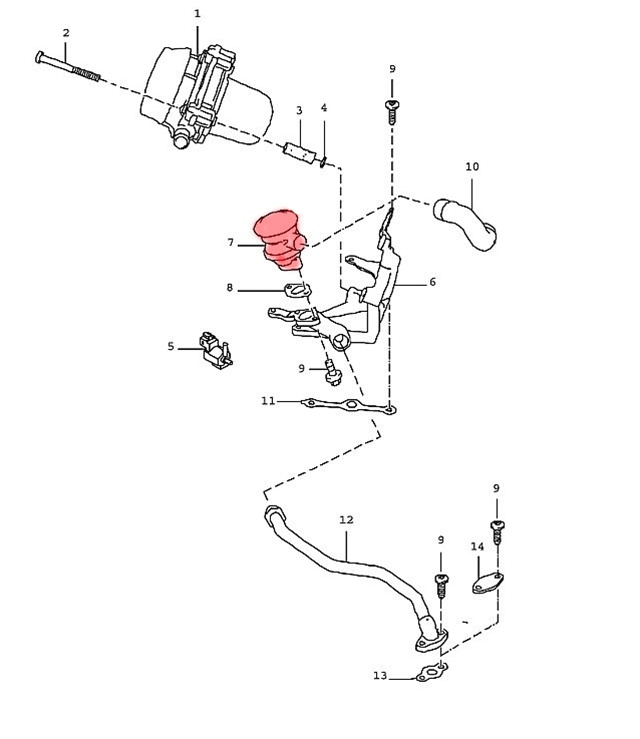 Porsche 911 Turbo Vacuum Diagram on porsche 928 brakes