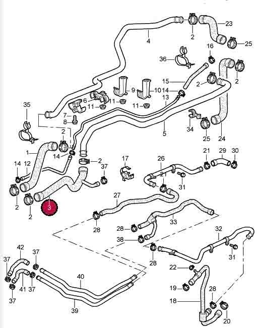 Hose Engine To Main Return Pipe