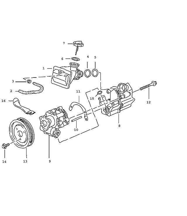 Pp on Chevrolet Power Steering Pump Diagram