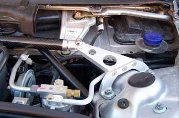 Porsche 911 996 986 Boxster Carbon Fiber Strut Brace