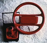 AGLA - Steering Wheel Re-Cover Kit, 4-spoke