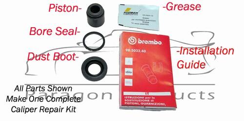 Caliper Piston Repair Dust Boot Scraper Ring Brembo