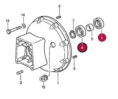 Deep Grove Ball Bearing For Torque Converter