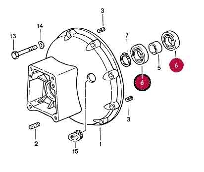 Deep-Grove Ball Bearing for Torque Converter