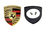 Porsche 944 & 968 Hood Emblem Badge Kit