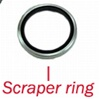 Scraper Ring; 30mm-Early Caliper
