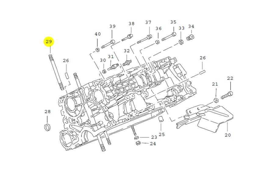 Exhaust System Engine Diagram also 6 Cylinder Engine Diagram also Early 944 Power Steering Diagram additionally Ford Crown Victoria Body Parts further Porsche 944 Turbo Exhaust Diagram. on early 944 power steering diagram