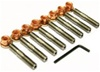 Stainless Exhaust Stud Kit - Porsche 924S/944/928/968