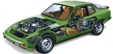 365 porsche 924 parts 1979 porsche 924 wiring diagram at bayanpartner.co