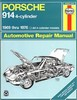 Haynes Manual for Porsche 914