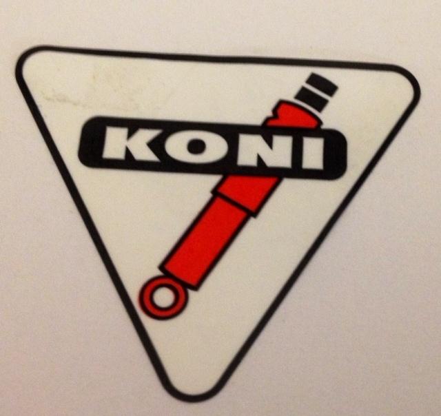 Koni Classic Decal 15